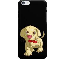 playful puppy iPhone Case/Skin