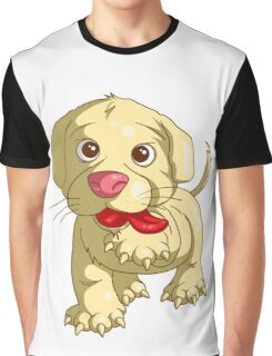 playful puppy Graphic T-Shirt