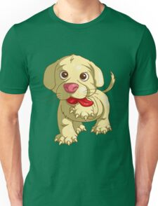 playful puppy Unisex T-Shirt