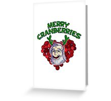 Merry Cranberries Greeting Card