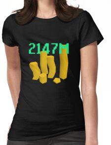 Max Gold! Womens Fitted T-Shirt
