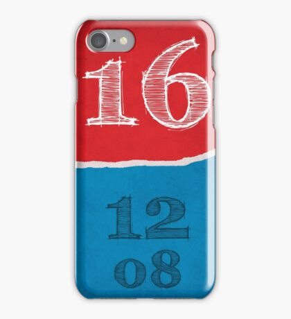 2016 Elections iPhone Case/Skin