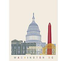 Washington DC skyline poster Photographic Print