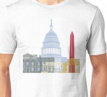 Washington DC skyline poster Unisex T-Shirt