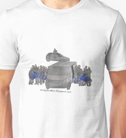 crowd control  Unisex T-Shirt