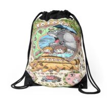 Gatobus Drawstring Bag