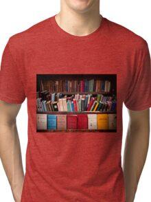 Bouquinistes, Paris Tri-blend T-Shirt