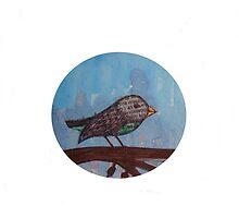 Bird by Csöpi's Art