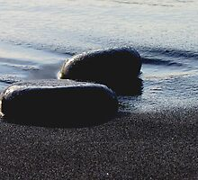 Rocks and Sand by Laura Lea Comeau