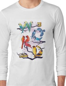 The Bird is the Word Long Sleeve T-Shirt