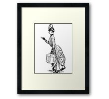 To the Point! Framed Print