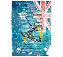 Australia yoga book Poster
