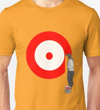 paint target  Unisex T-Shirt