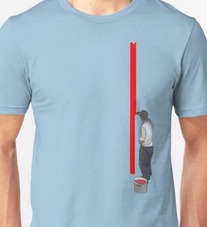 paint line  Unisex T-Shirt