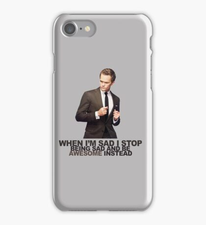 The Awesomeness that is Barney Stinson iPhone Case/Skin