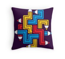 LINEAR CREATION Throw Pillow