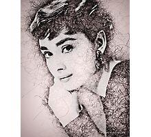 Audrey Hepburn #2 Photographic Print