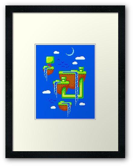 PIXEL ISLANDS by DREWWISE