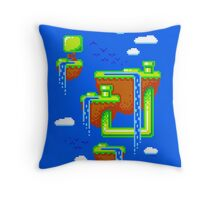 PIXEL ISLANDS Throw Pillow
