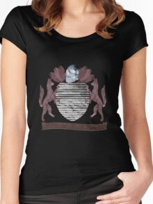 coat of arms Women's Fitted Scoop T-Shirt