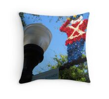 Christmas Greetings from Tarpon Springs Throw Pillow