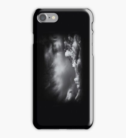 iPhone Case - BW - Clouds iPhone Case/Skin