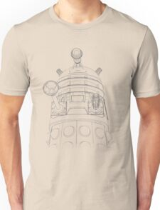 Simplistic Dalek Unisex T-Shirt