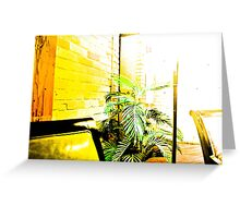 Blown Out Plant Greeting Card