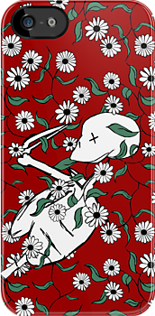 Skeleton Floral by pondripple