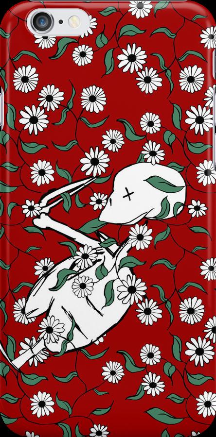 Skeleton Floral by pondripple
