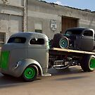 1940 Ford COE Roll Back Truck by TeeMack