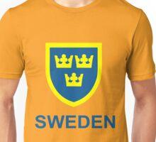 Country - Swedish Three Crowns Unisex T-Shirt