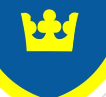 Country - Swedish Three Crowns Sticker