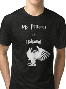 My Patronus is Bahamut Tri-blend T-Shirt