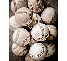 Baseball Collection Photographic Print