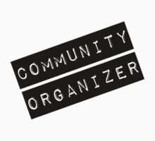 Community Organizer Label Kids Tee