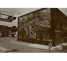 The Mural in Galesburg, IL  Photographic Print