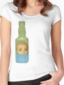 10 green bottles 5 Women's Fitted Scoop T-Shirt