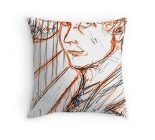 Harpo Marx Throw Pillow