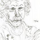 Miss Marple Sketch II by RachelScottArt