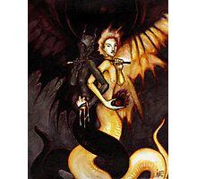Satan & Lucifer Photographic Print