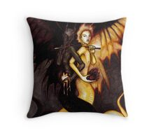 Satan & Lucifer Throw Pillow