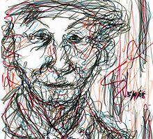 Miss Marple Sketch III by RachelScottArt