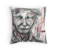 Miss Marple Sketch III Throw Pillow
