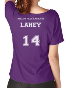 Beacon Hills Lahey - White Women's Relaxed Fit T-Shirt