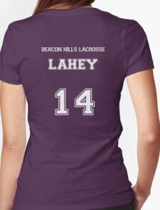 Beacon Hills Lahey - White Womens Fitted T-Shirt