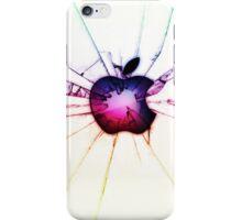 Cracked Apple Rainbow iPhone Case/Skin
