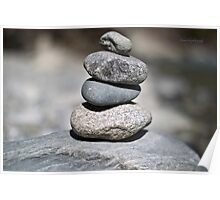 Stones Stack Poster