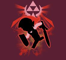 Super Smash Bros. Red Toon Link Silhouette Unisex T-Shirt