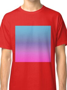 BLUE MAGENTA - Plain Color iPhone Case and Other Prints Classic T-Shirt
